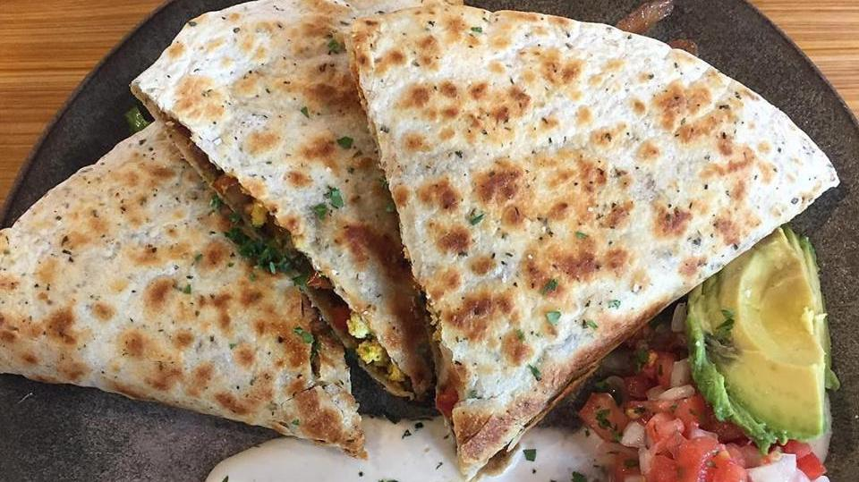 Vegan Quesadillas in NOLA