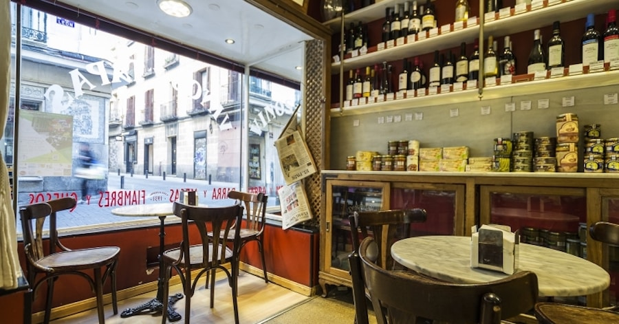 Bars with Best Wine in Madrid