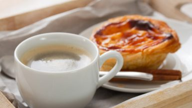 Coffee and Pastel de Nata