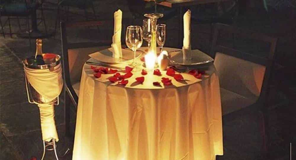 Romantic Dinner in South America