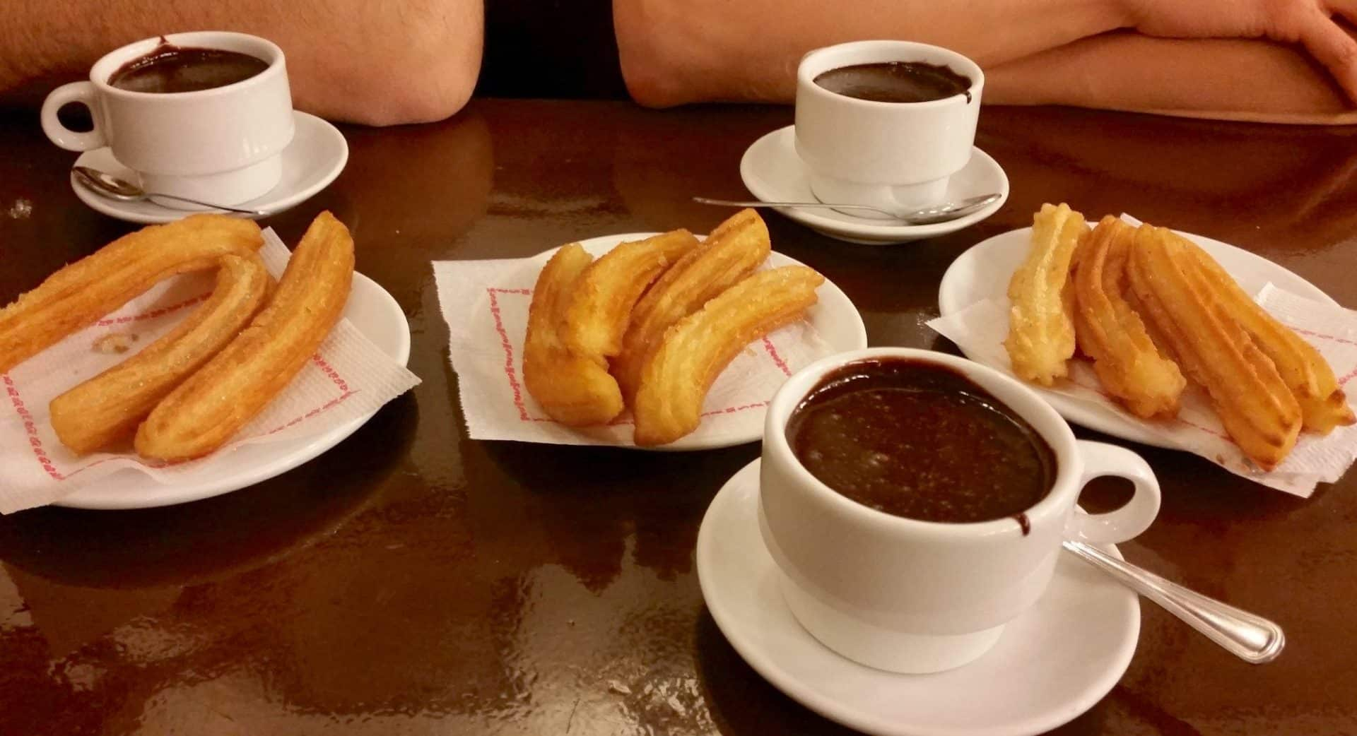 Authentic Churros in Barcelona