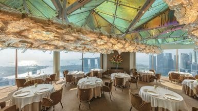 Most Romantic Restaurants in Singapore