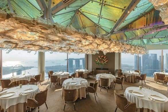Most Romantic Restaurants in Singapore