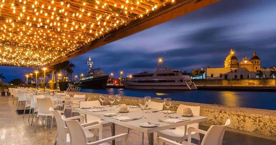 Most Romantic Restaurants in Cartagena