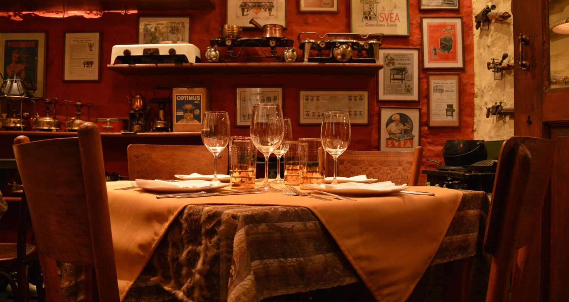 South America Romantic Restaurants