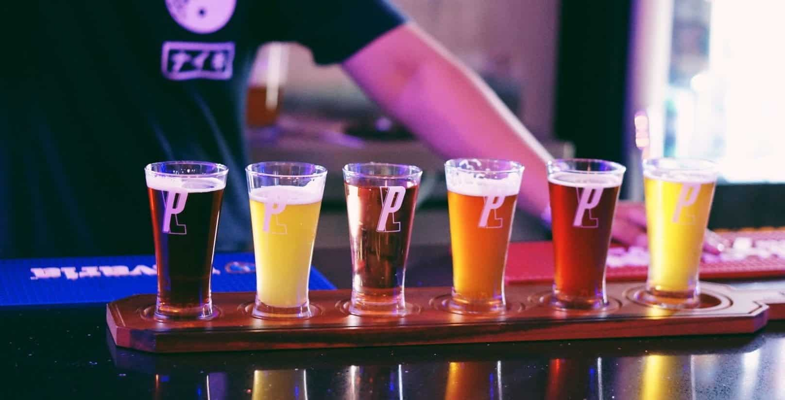 Craft Beer Flights Bangkok