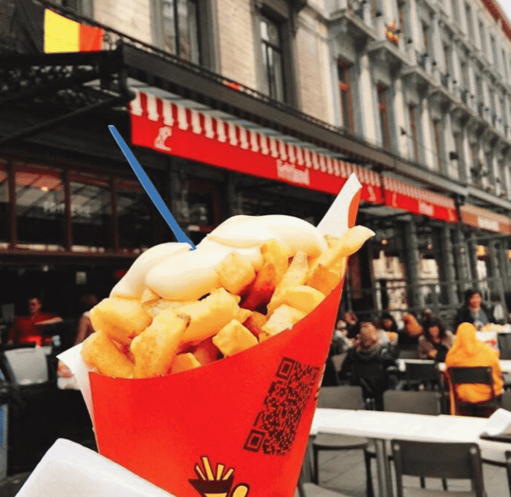 Best Frites In Belgium Brussels