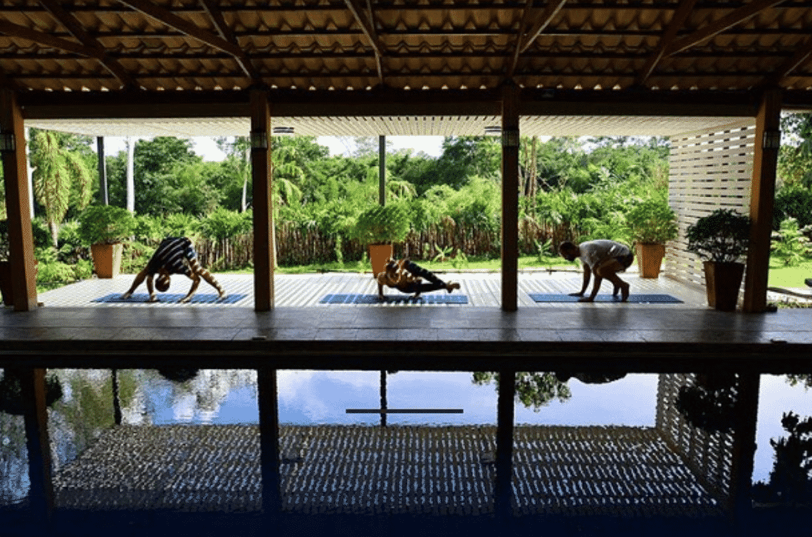 Thai yoga retreat