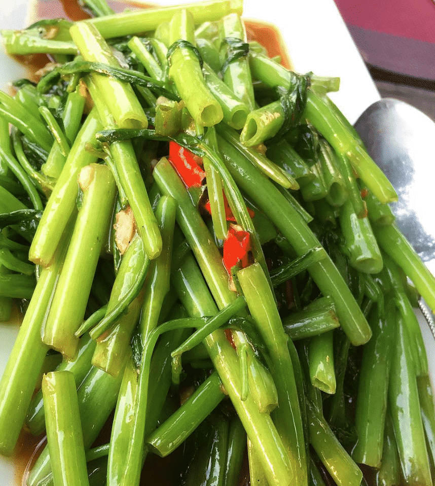 Morning Glory Dishes To Eat In Thailand