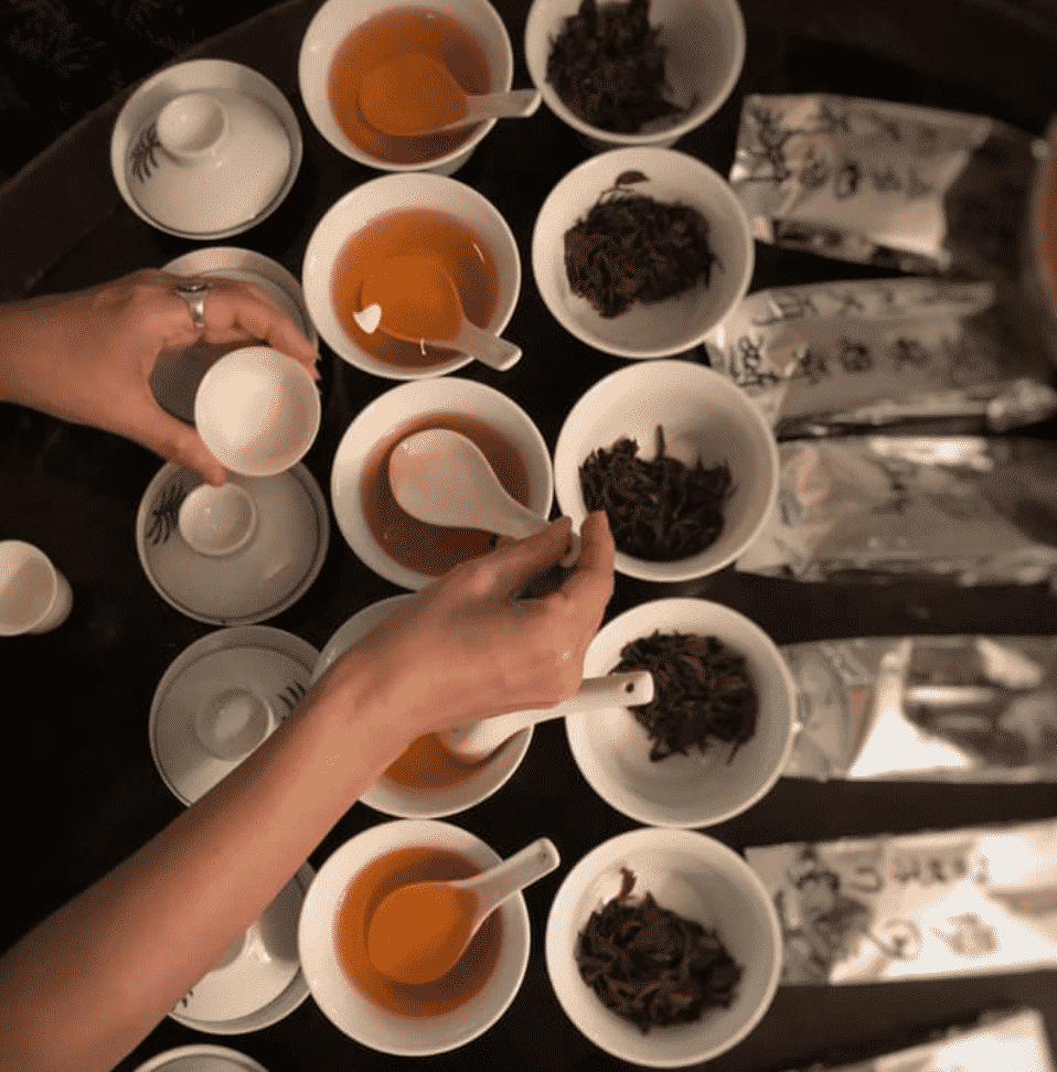 best places for tea taipei