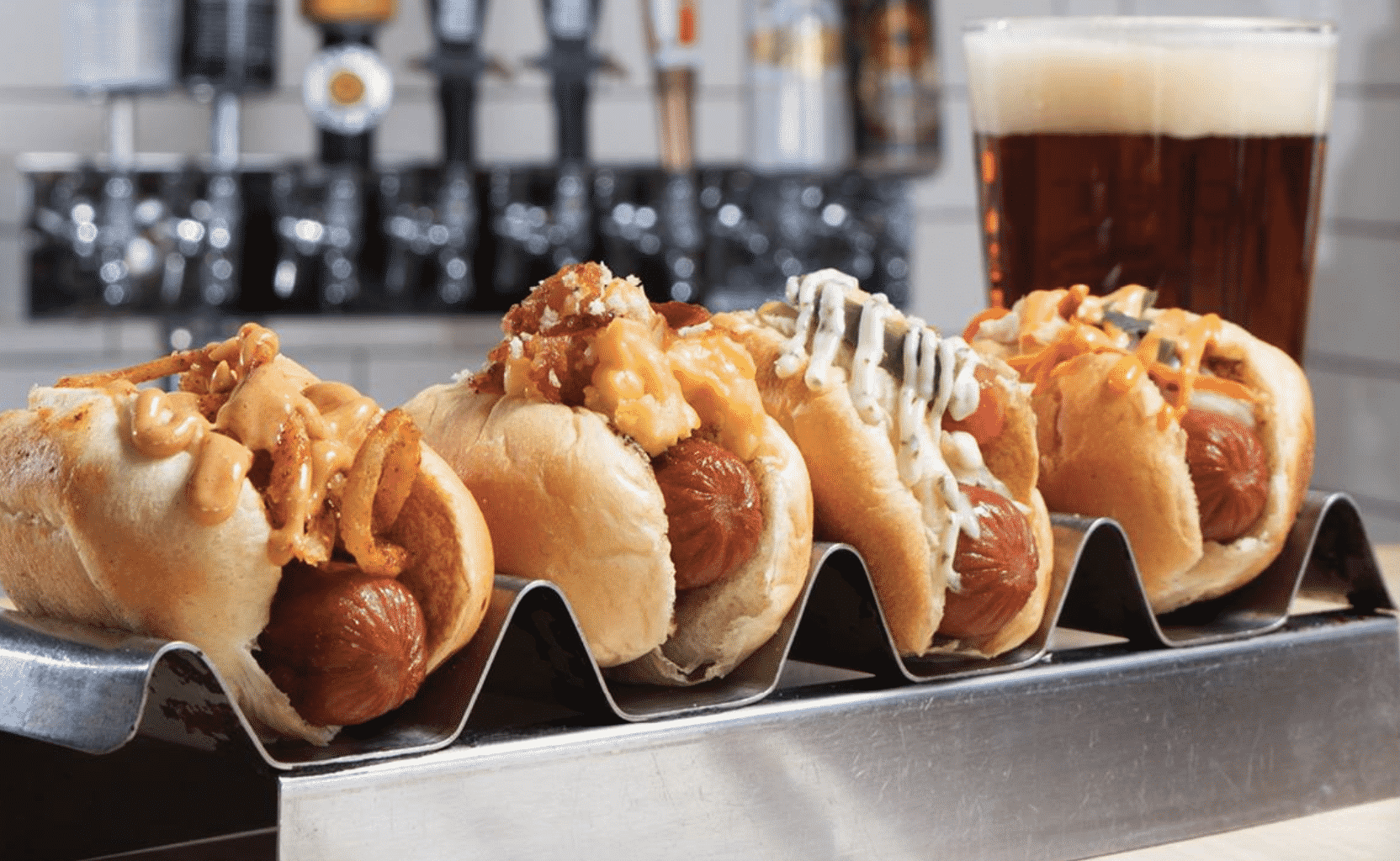 Gourmet Hot Dogs in America