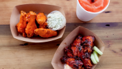 New Orleans chicken wings
