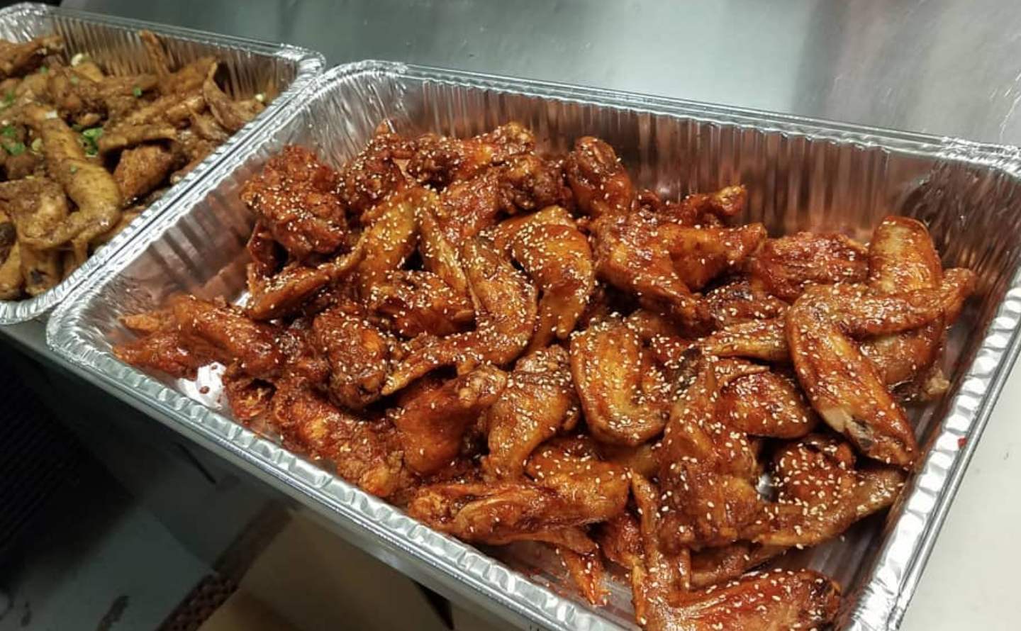 Chicago chicken wings
