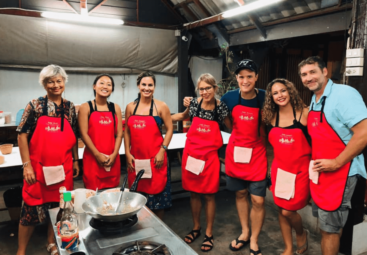 Learn Thai Cooking in Thailand schools