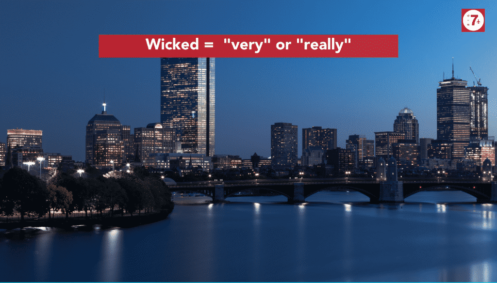 common Boston slang words