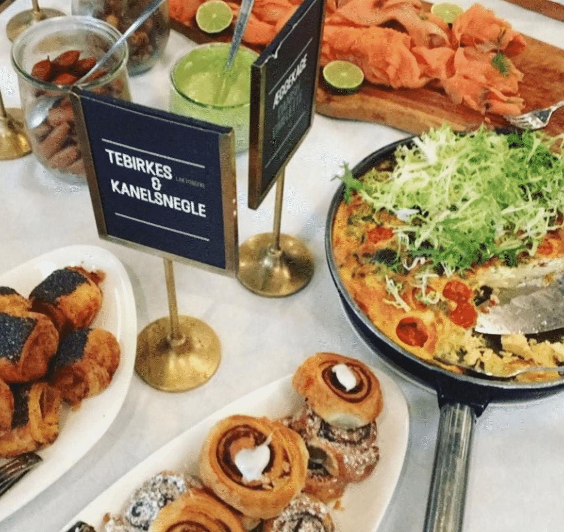 Tasty copenhagen brunch spots