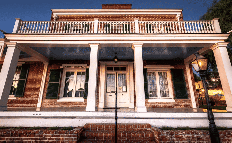 Whaley House Haunted San Diego