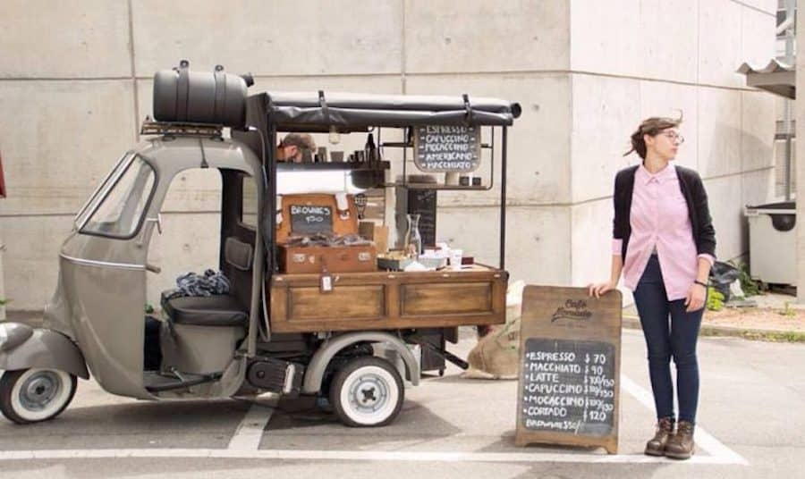 Coffee Cart in Uruguay
