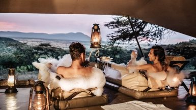 romantic safari lodges Africa
