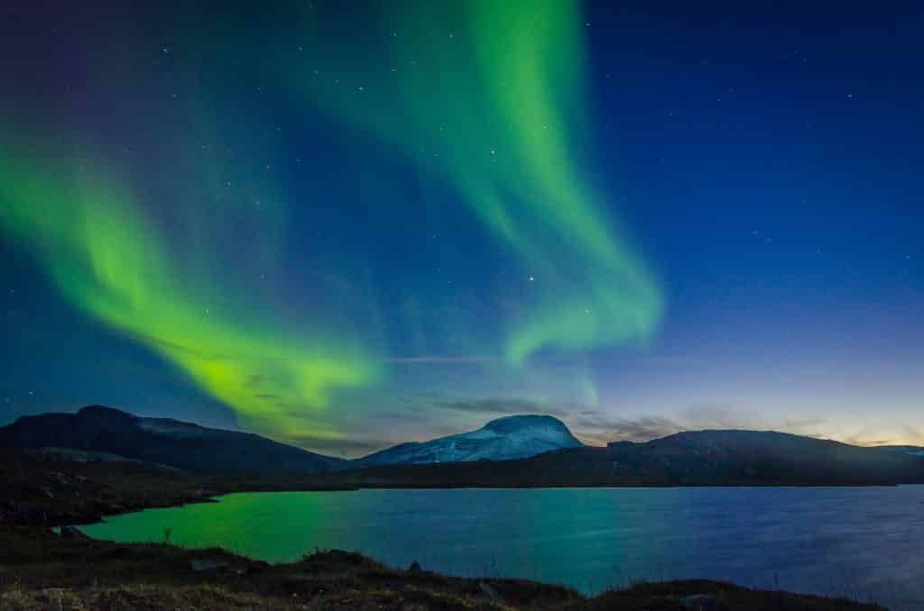 Northern Lights in Europe