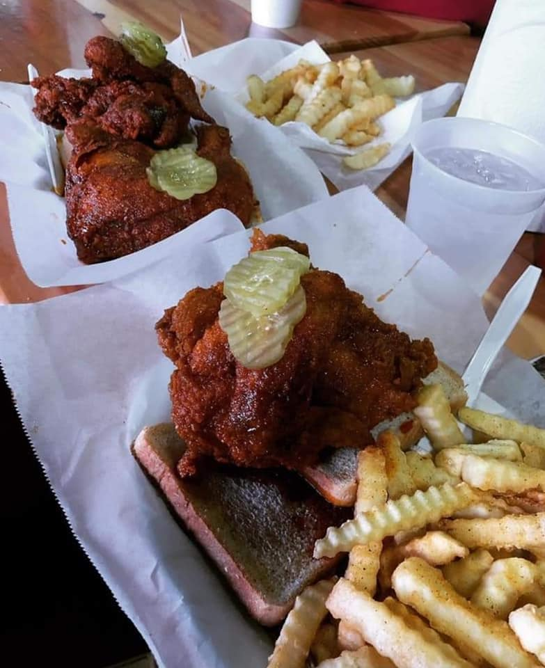 Best Nashville hot chicken in Tennessee