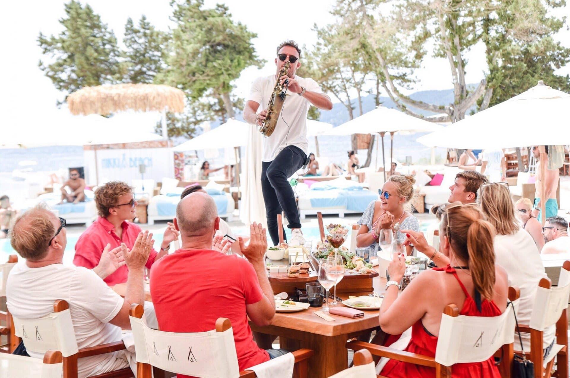 best beach bars in Ibiza