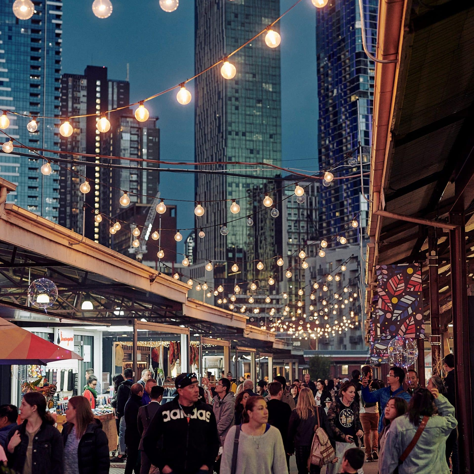 Food Markets In Melbourne