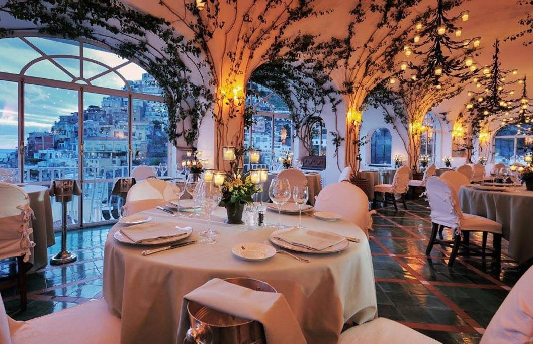 romantic restaurants Italy