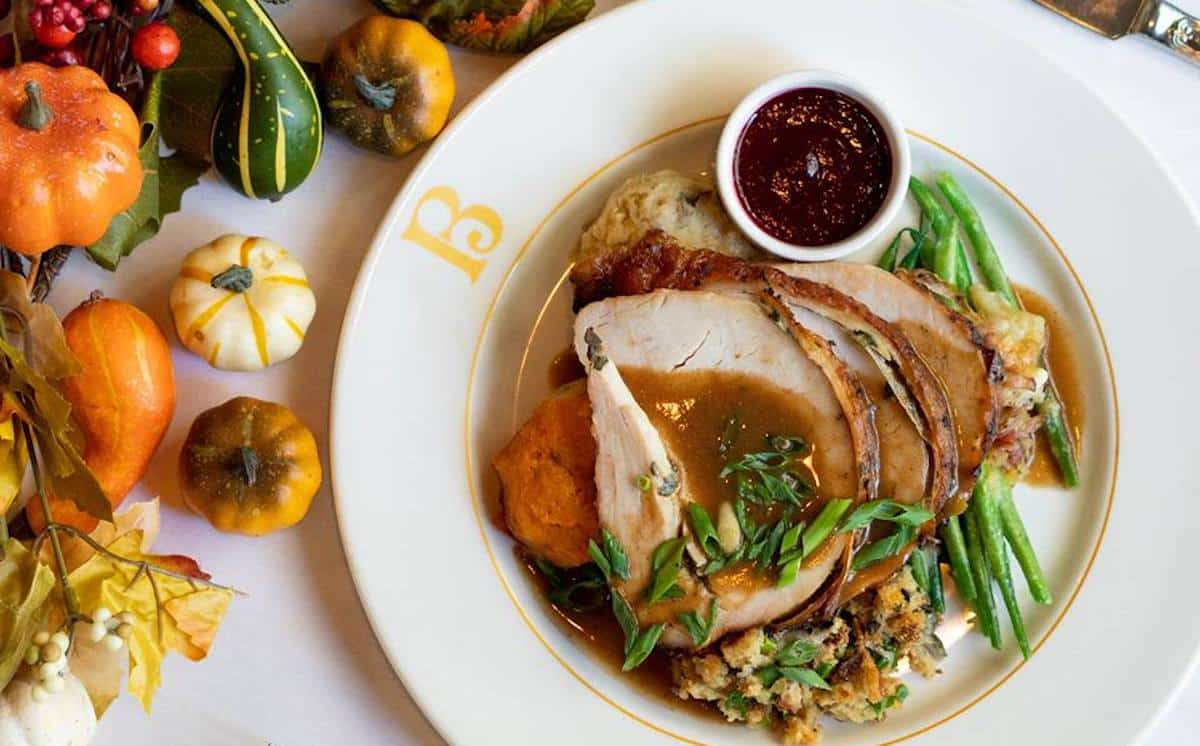 Where to Eat Thanksgiving Dinner in New Orelans
