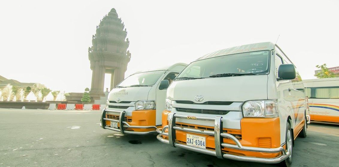 Van From Phnom Penh to Siem Reap