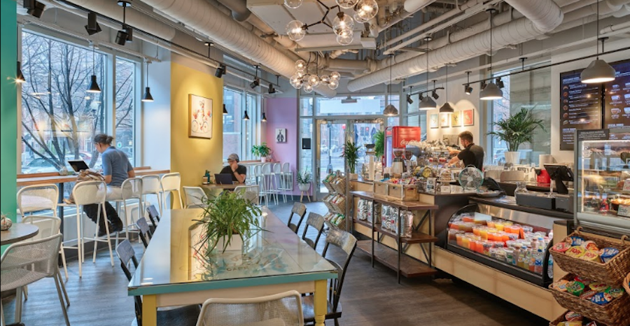 Trendy Cafes in Boston