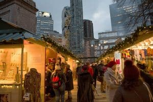 the best Christmas markets in New York