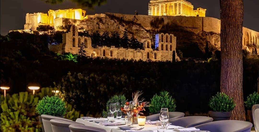 Most Romantic Restaurants in Athens