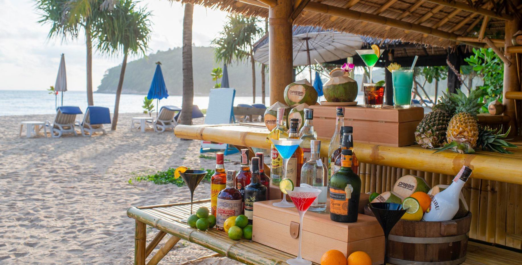 Relax and Drink at the Beach in Phuket