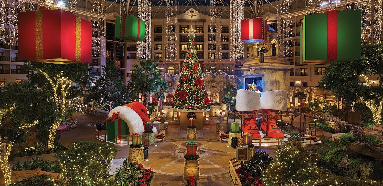 Most Festive Hotels at Christmas in the United States