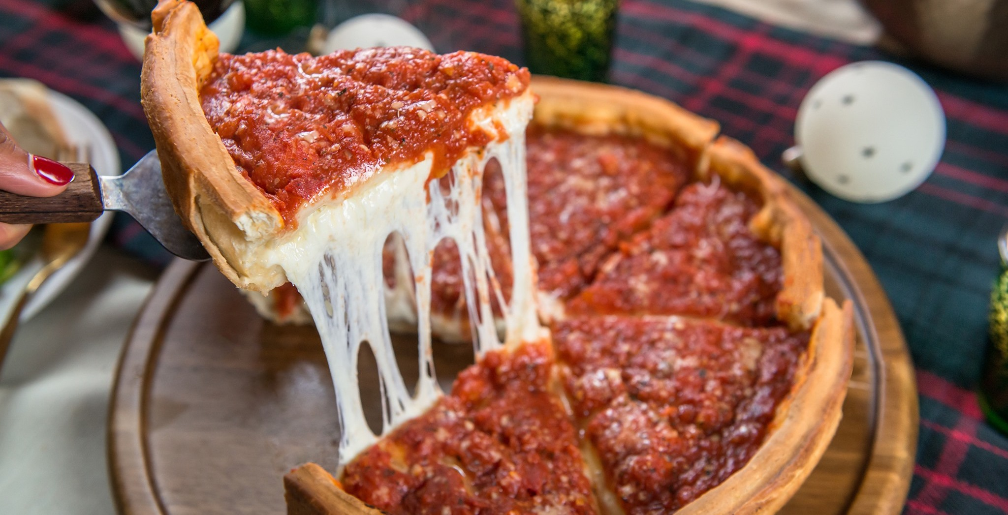 Best Deep-Dish Pizza In Chicago