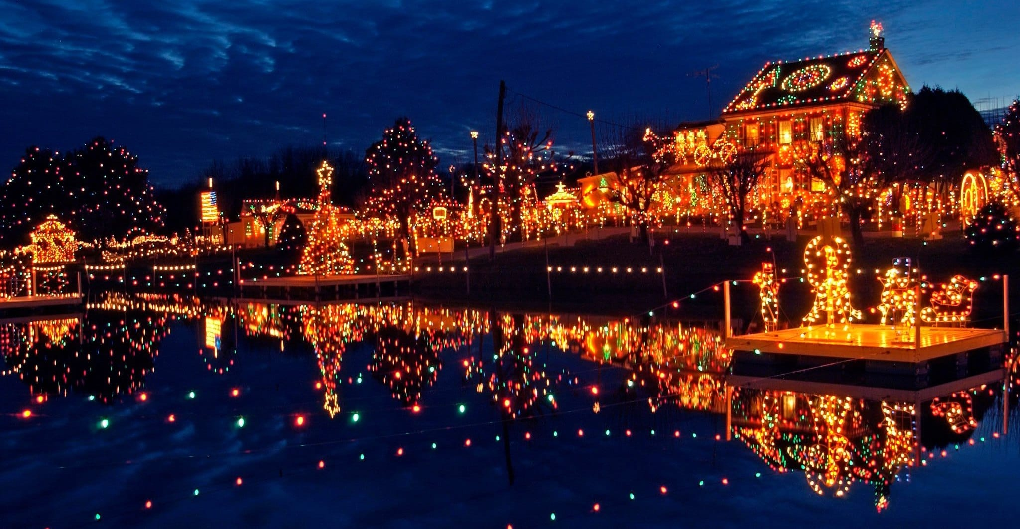 US Cities with Festive Cheer