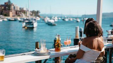 Waterfront Bars Sydney Australia
