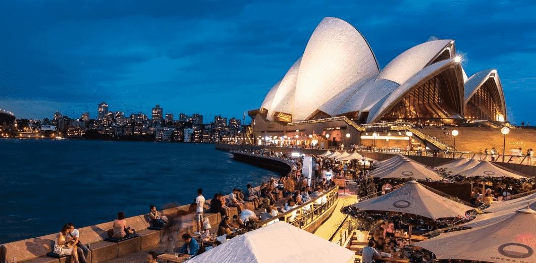 Famous Sydney Opera House Bar
