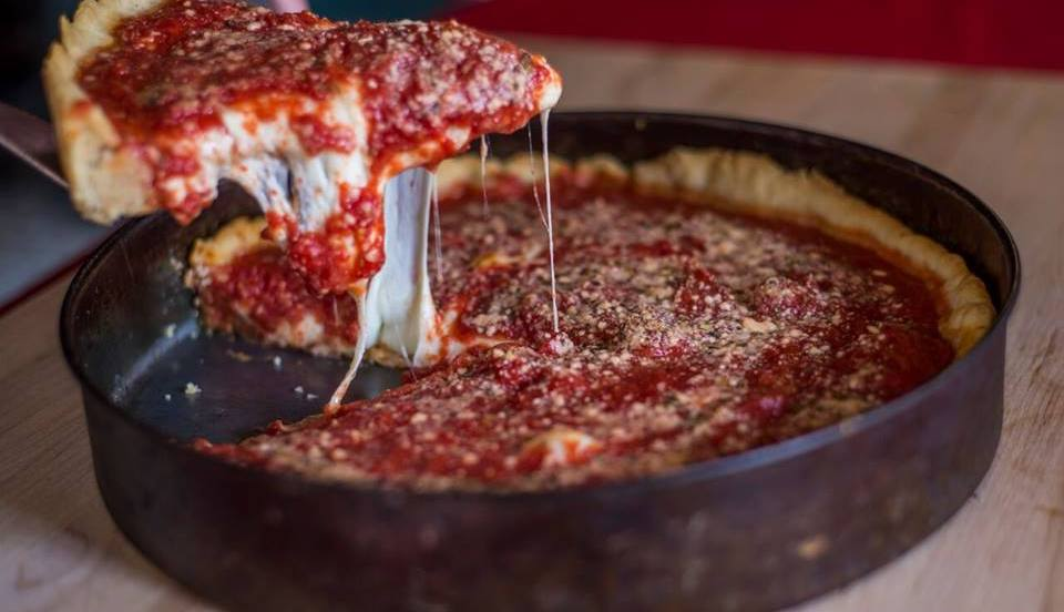 Where to Get the Best Deep-Dish Pizza In Chicago