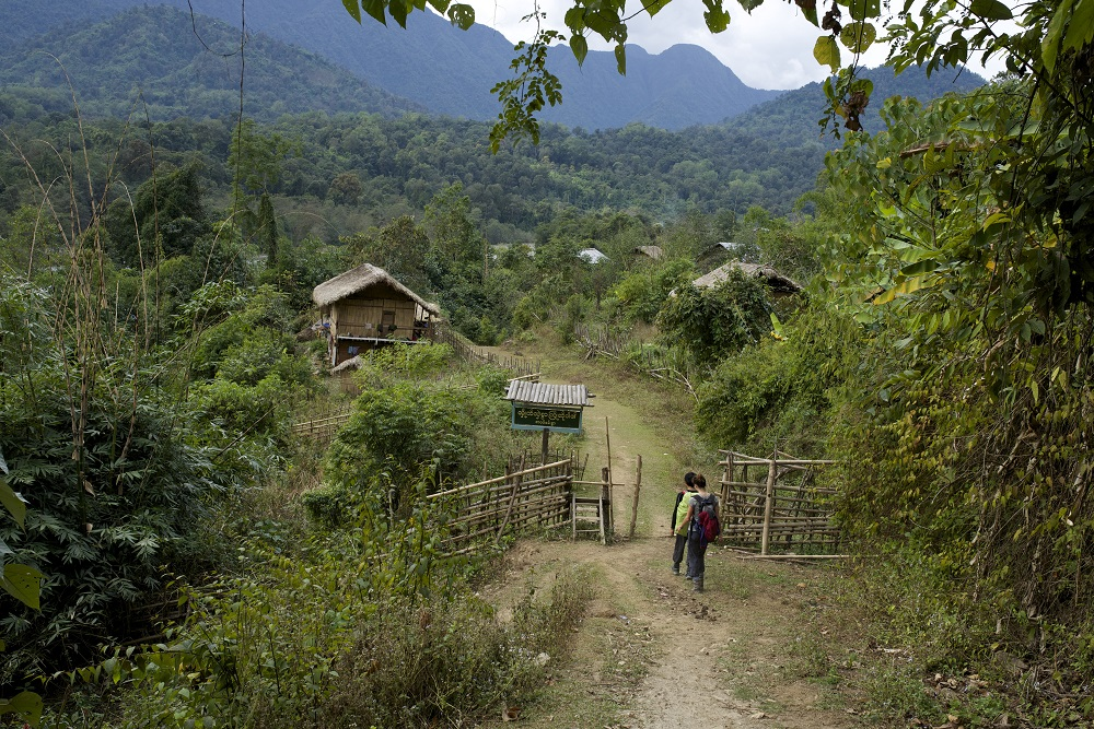 trekking routes in Myanmar