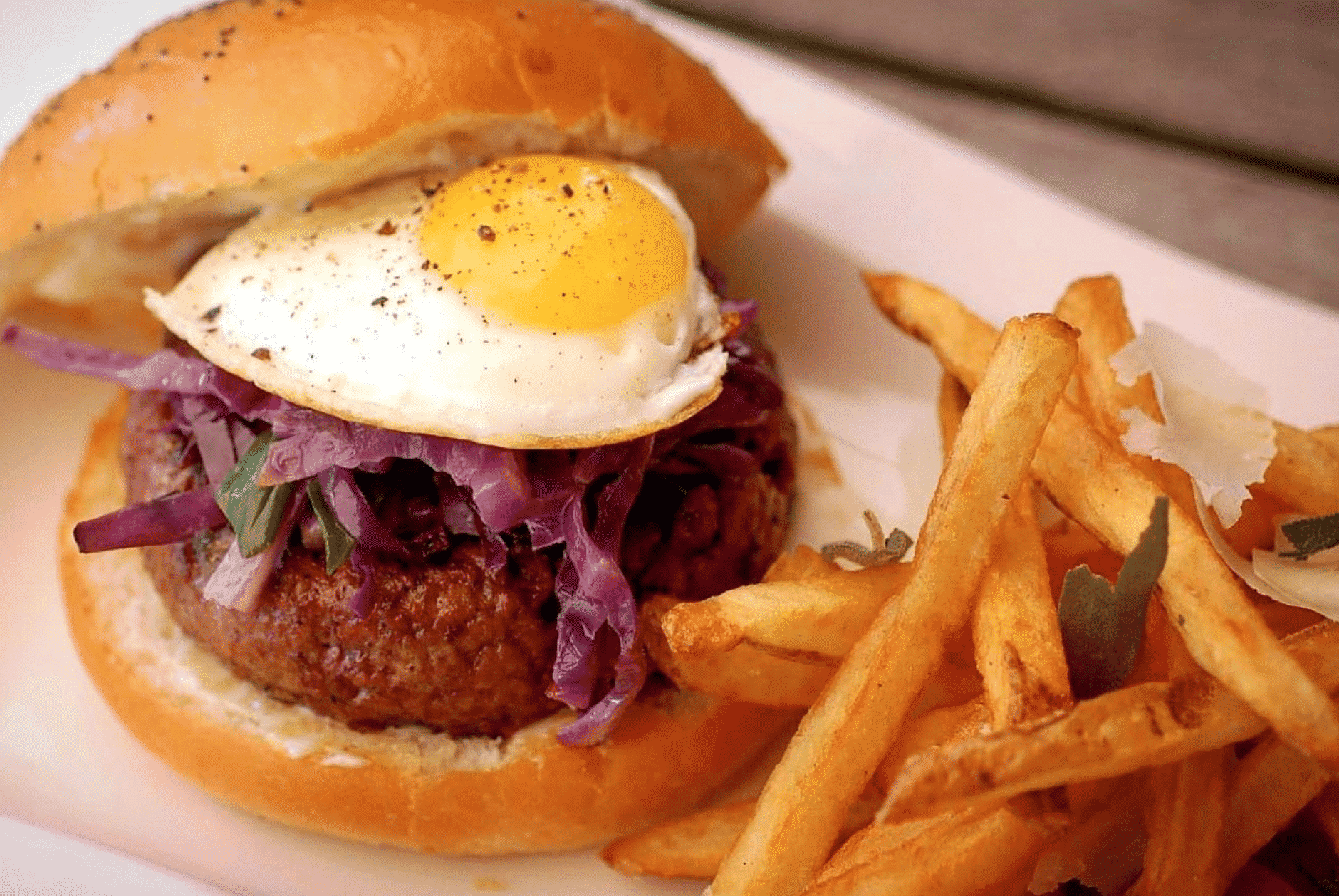 Best burgers for Atlanta brunch