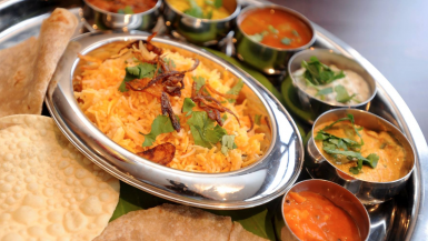 Indian restaurants in England