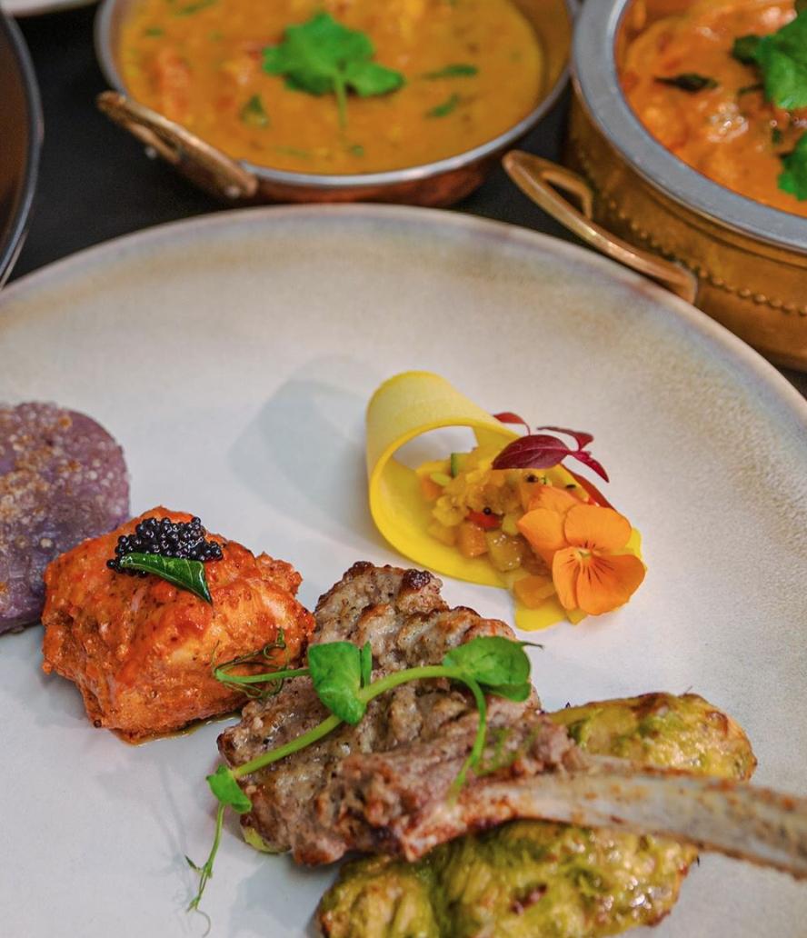 Indian restaurants in England