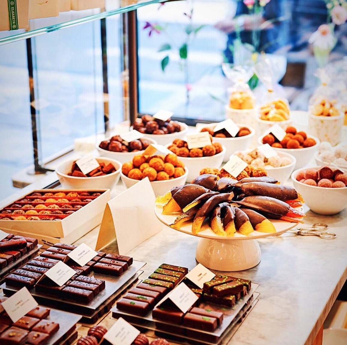 Chocolate shops in Brussels