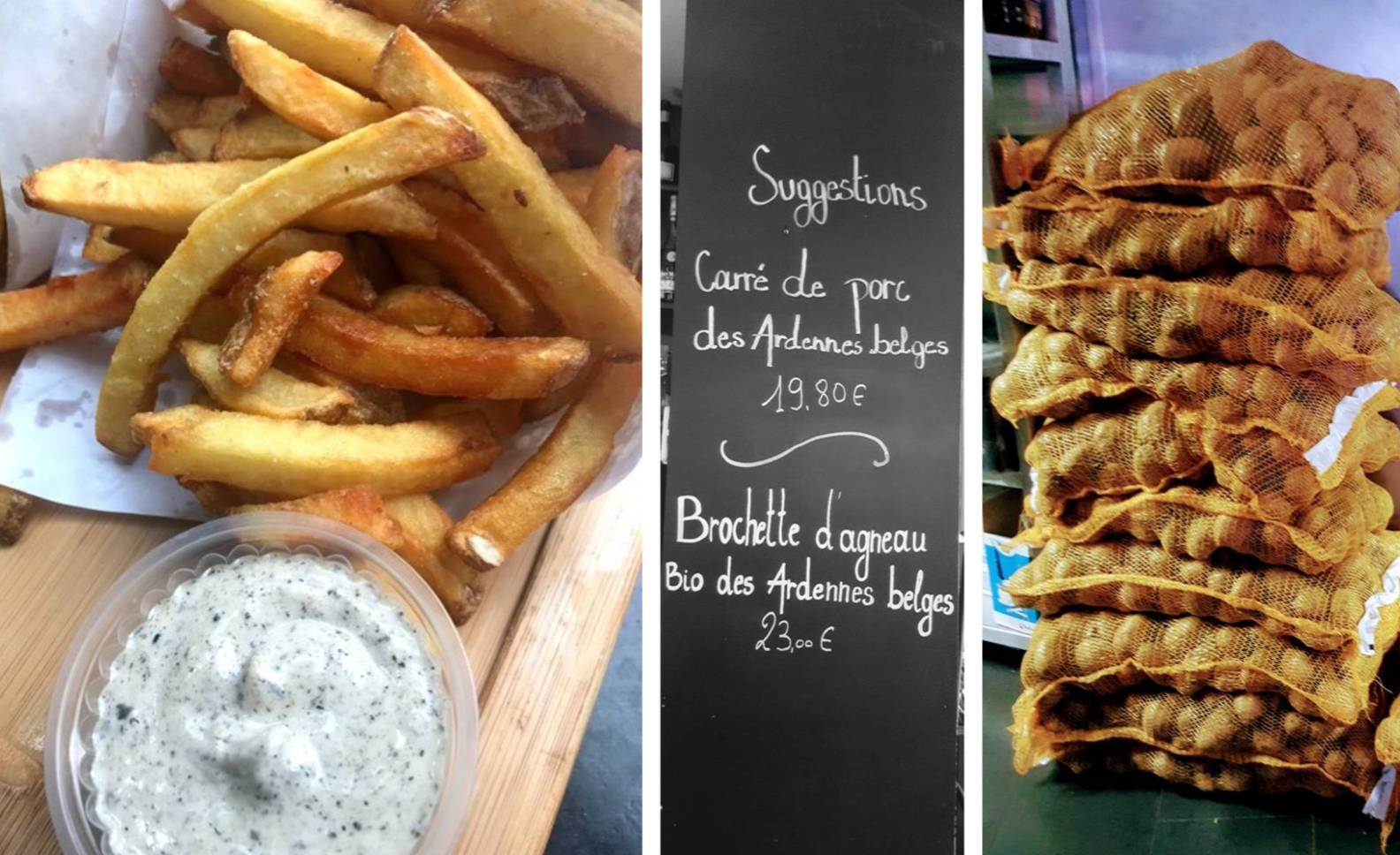 French Fries in Brussels
