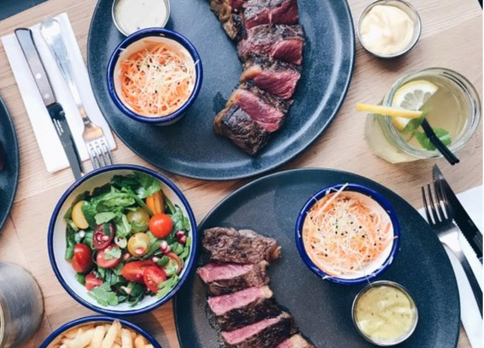 Steaks in Brussels