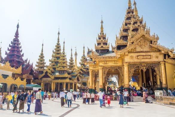 best temples Yangon Myanmar