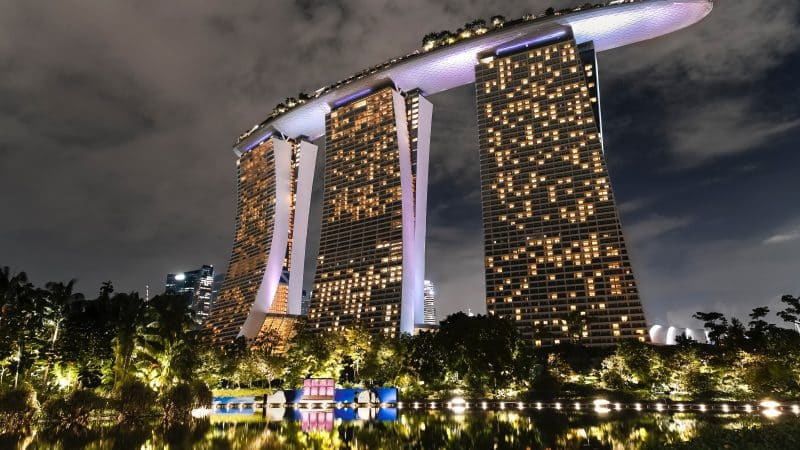 Crazy Rich Asians filming locations in Singapore