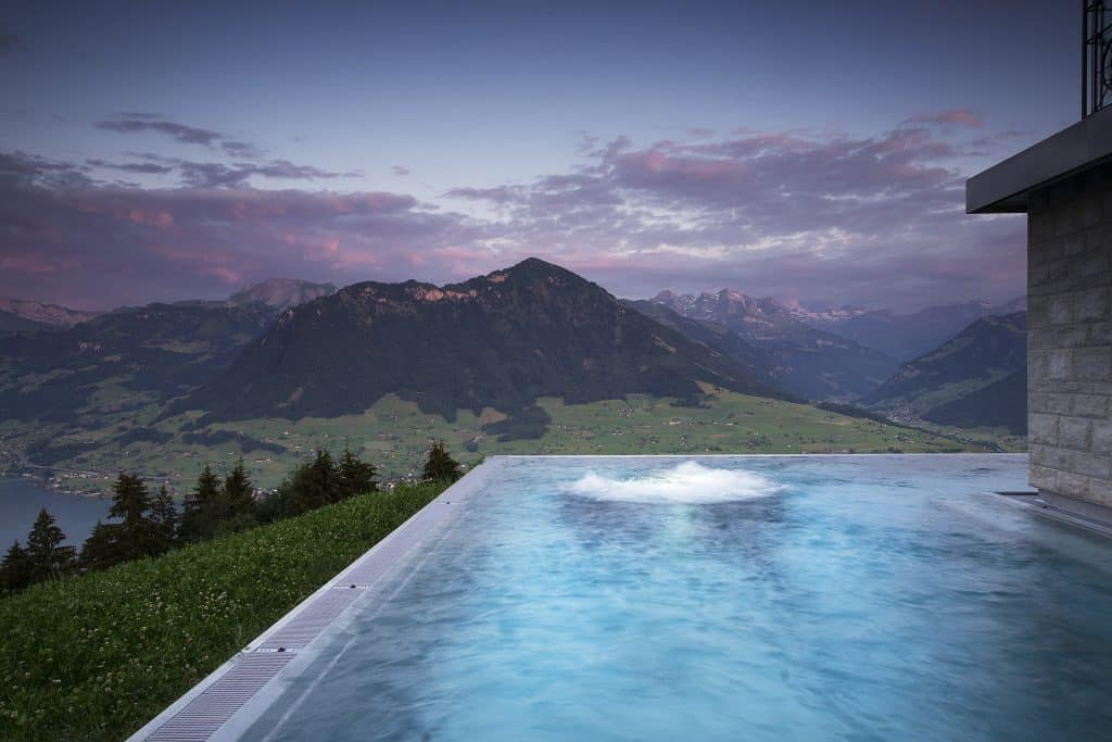 hotel spas in Switzerland